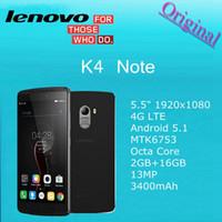 al por mayor gps x3-Original Lenovo X3 Lite Limón K4 Nota 5,5