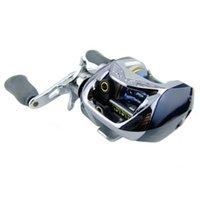 Wholesale Bait Casting Ratio Powerful Gear Lure Reel BB baitcasting Reel Bag Low Profile Fishing Tackle centrifugal braking sytem