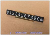 Wholesale Hot Selling Price Display ABS Plastic Metal Price Tag sets