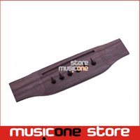 acoustic guitar luthiers - New String Rosewood Bridge For Acoustic Guitar Guitar Luthiers