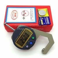 Wholesale Tragbare Mini Präzise digitale Dickenmessgerät Meter Tester Mikrometer Dicke Messwerkzeug mm TYPE A