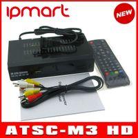 Cheap Newest ATSC TV BOX Mexico USA Canada Korea ATSC-M3 HD TV Receiver Full HD 1080p Digital TV Converter Box Free shipping