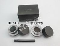 eye gel eye liner - New Professional Makeup Fluidline Eye Liner Gel Waterproof eyeliner Gel Black and Brown Color g