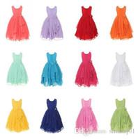 autumn girls images - Flower Girl Chiffon Princess Dress Kid Party Pageant Wedding Bridesmaid Dress
