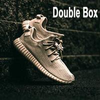 basketball shoe shop - Double Box Designer Shoes Kanye West Boost Shop Online Size Mesh Shoes Available Pirate Black Turtle Dove Moonrock Oxford Tan