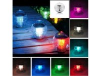 Wholesale Solar Powered LED Globe Lamp Night Light for Garden Illumination Waterproof Underwater Swimming pool Pond LED Lights