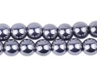 Wholesale new New mm Good Silver Hematite Loose ball Beads Shamballa Findings Fit DIY Bracelet Bead for bracelet hotsale DIY Findings Jewelry DIY