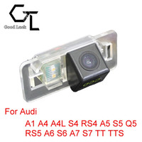 auto rear view camera wireless - For Audi A1 A4 A4L S4 RS4 A5 S5 Q5 RS5 A6 S6 A7 S7 TT TTS Wireless Car Auto Reverse Backup CCD HD Night Vision Rear View Camera