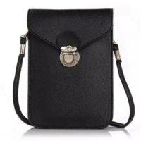 apple messenger bags - Fashion new phone case quilted women handbag multi layer cell phone bags purse mini shoulder bag women messenger bags