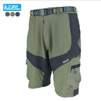 Wholesale Brand SR147 ARSUXEO Mens Brand Outdoor Sports Cycling Clothing Downhill MTB Shorts Mountain Bike Bicycle Shorts Wear Jersey