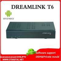 america satellite - Dreamlink T6 by dhl Android dvb s2 Satellite Receiver america box DL300 QPSK jynxbox ultra hd dreamlink t5
