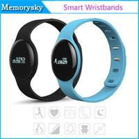 apple led screen - H8 Smart Watch Wristband Bracelet Bluetooth Sports LED Screen Waterproof Anti Lost Wristband Sleep Fitness Tracker Wearable Watch