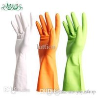 Wholesale Man wonderful summer thin section housework laundry dishwashing gloves gloves rubber gloves latex gloves tasteless anti aging