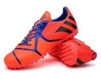 Wholesale unisex Football boots cheap Soccer cleats Outdoor fussball Shoes TF Soccer Cleats gift