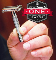 Wholesale Micro Touch Men s Razor One Classic Safety with Extra Blades MicroTouch Factory Price