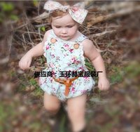 baby camisoles - NEW ARRIVAL baby girl kids infant toddler rose flower floral lace romper onesies jumpsuits bodysuits strap jumper Lace Camisole Leotard vest