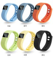 Wholesale NOT FITBIT TW64 wristband Smart Band Fitness Activity Tracker Bluetooth Smartband Sport Bracelet For Iphone Android For Christmas Gift
