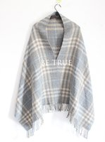 Wholesale Korean version of the new imitation cashmere big cloak shawl scarf dual use long ladies students autumn and winter thick plaid scarf