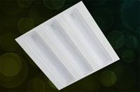 Панель решетки Цены-Бесплатная доставка 27W 36W 48W Grille лампы 600x600mm LED решетка свет 6060 водить потолочное освещение высокого качества офиса панель светодиодное освещение