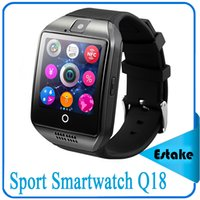 android items - Hotest item Bluetooth Sport Smartwatch Q18 Wrist Watches for IOS Iphone Android Phone Smartphone Smart Watch