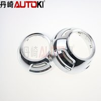 Wholesale inches hid projector lens shroud high temp resistant Caynne for car headlight can install angel eye
