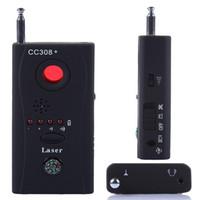 Wholesale CC308 Hidden Spy Camera Signal RF Detector GSM Audio Bug Listening Device Finder CCTV IP Lens Laser