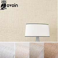 beige color walls - Faux Grasscloth Modern Wallpaper Simple texture Wall Paper Bedroom and Office Wallpaper Roll Solid Color Beige Off White Brown