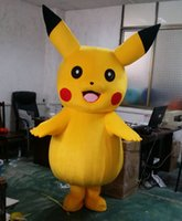 Wholesale Big Sale Dancing Pikachu Mascot Costume Popular Cartoon Character Costume For Adult Fancy Dress Party Suit