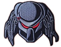 Wholesale 3 quot PREDATOR ALIEN ARNOLD Movie TV Series Embroidered iron on patch cosplay transfer COMICS APPLIQUE