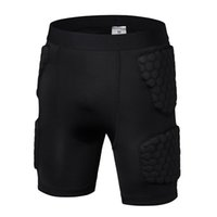Wholesale Honeycomb anti collision basketball tight pants sports pants armor roller skating skating hockey pants adult children