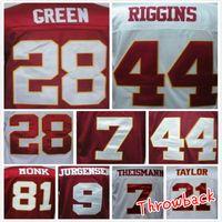 art monk throwback jersey - Redskins Throwback John Riggins Art Monk Doug Williams Joe Theismann Sean Taylor Darrell Green jerseys Replica
