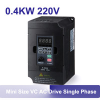 equal 0-input voltage ac vfd drives - 0 KW kw mini size single phase three phase Variable Frequency VFD Drive PH PH frequency converter VC ac drive AC DC AC