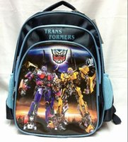 Wholesale 50cs New Available Fashion Movie Character Boys School Bag Cartoon Kids Backpack Students Rucksack G300