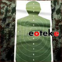 Wholesale 10pcs Target Paper inch Archery Full Ring Aim Shooting Target Paper for Crossbow Slingshot