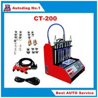 automotive clean fuels - CT200 Fuel injector Cleaner and Tester V V With English panel better than CT100 CNC A CT200 Fuel injector Cleaner DHL FREE