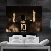 barcelona posters - Lionel Messi Barcelona FC and argentina Poster print wall art picture parts giant huge size NO115