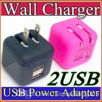 big chinese wall - Universal Big Type Foldable Folding USA Plug Dual USB Wall Charger Home AC Power Adapter Charging For iPhone Plus iPad Samsung S6 W SC