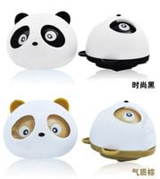 Wholesale 10 pieces Car Air Freshener Blink Lovely Mini Panda Perfume Diffuser For Auto Car Perfume Color