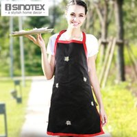apron embroidered - Apron Cotton Embroidered Flowers Womens Funny Cooking Chef s Aprons Dining Room Barbecue Restaurant Cleaning Floral Halterneck