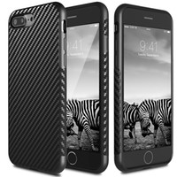allergy proof - Carbon Fiber Pattern Case For iPhone Plus Allergy proof TPU Rubber Back Case Cover For iPhone S SE S