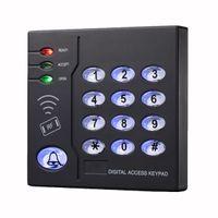 access plastics - 6 Users Proximity RFID Khz EM Card Plastic Backlit Keypad Standalone Access Control For Indoor F1248A