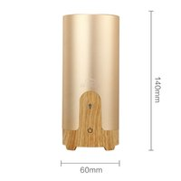 Wholesale GX Diffuser car air humidifier Difusor De Aroma Diffuser USB Ultrasonic Humidifier Essential Oil Diffuser Mist Maker fogger