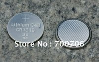 Wholesale per bulk in tray CR1616 V lithium button cell batteries