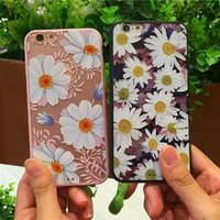apple beauty case - Fashion Luxury Floral Painted D Relief For Apple iPhone iPhone6 S Case For iPhone Beauty Flower Cell Phone Cases Cover