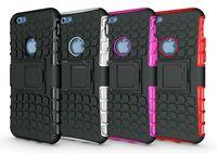 I6 Pneu Pneu Armor Téléphone Housse Etui rigide pour Apple Iphone 6 4.7 Anti Knock PC Silicone Mix Hybride Housse de protection