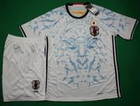 16 17 Japón distancia uniformes de fútbol blanca de manga corta camisetas de deporte diseñador camiseta atlética calidad de Tailandia del kit del fútbol de envío gratuito