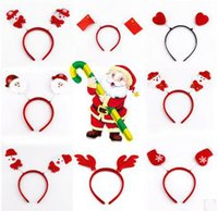 Wholesale Santa claus The Christmas Hair Clip is a very Lovely Christmas Gift for Baby Girls or children Antlers Socks Snowflake Snowman Gilt snowman