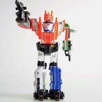 Wholesale Hot Sale Super changeble Toys Transformation Robots Action Cars Robot Kit C Plastic Kids Toys For Boys
