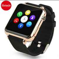 Wholesale New Curved inch HD Screen Bluetooth Wrist Clock Watch Sport Watch for Apple iPhone Android Phone PK DZ09 GT08 Smart Watch