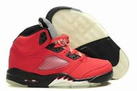 Cheap Retro Air 5 men basketball shoes online cheapest sale good quality real best sports sneakers US size 8-13 with box free shipping
